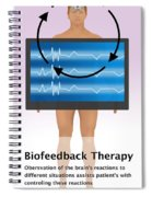 Biofeedback Therapy Spiral Notebook