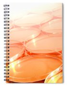 Biotechnology Experiment In Science Research Lab Spiral Notebook