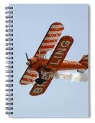 Biplane Spiral Notebook