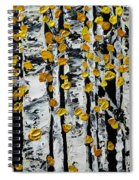 Birch Study Fall Spiral Notebook