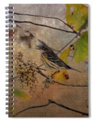 Bird And Berries Spiral Notebook