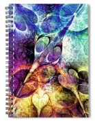 Bird And Flowers Spiral Notebook