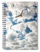 Bird And The Clouds Spiral Notebook