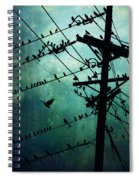 Bird City Spiral Notebook