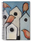Bird Condo Association Spiral Notebook