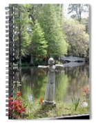 Bird Girl Of Magnolia Plantation Gardens Spiral Notebook