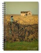 Bird House And Farm Spiral Notebook
