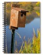Bird House Autumn 1 Spiral Notebook