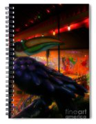 Bird IIzza Word Spiral Notebook