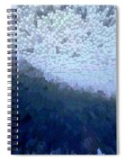 Bird In A Storm - Obstacle - Life Journey Spiral Notebook