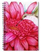 Bird In Bloom Spiral Notebook