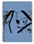 Bird In Flight Spiral Notebook