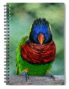 Bird In Your Face  Spiral Notebook