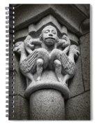 Bird Man Spiral Notebook