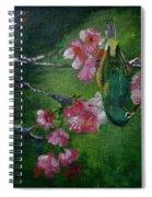 Bird N Blossom.... Spiral Notebook
