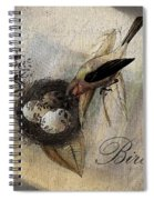 Bird Nest - Sp11ac02 Spiral Notebook