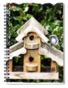 Evans's Bird Of Oregon City Spiral Notebook
