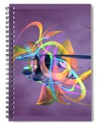 Bird-of-paradise - Abstract Spiral Notebook