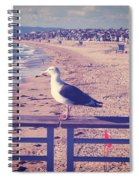 Bird On A Rail Spiral Notebook