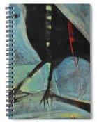 Bird On Branch Spiral Notebook