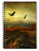 Country Bird Rail Spiral Notebook
