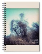 Bird Shaped Tree Spiral Notebook