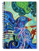 Bird Song 2 Spiral Notebook