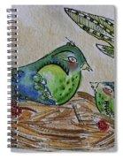 Bird Talk Spiral Notebook