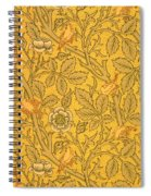 Bird Wallpaper Design Spiral Notebook