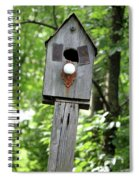 Birdhouse Collection I Spiral Notebook