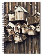 Birdhouse Condominium Spiral Notebook