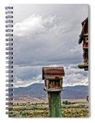 Birdhouses Spiral Notebook