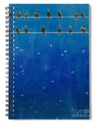 Birds And Fish Spiral Notebook