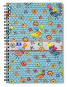 Birds And Flowers For Children Spiral Notebook