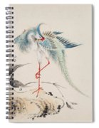Birds And Flowers Spiral Notebook