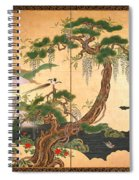 Birds And Flowers Of Spring And Summer Spiral Notebook