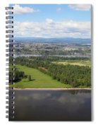 Birds Eye View Of Portland Spiral Notebook