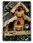 Birds In Oregon Spiral Notebook