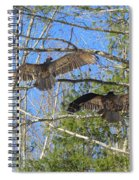 Birds Of A Feather Flock Together Spiral Notebook