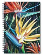 Birds Of Paradise  2   Sold Spiral Notebook