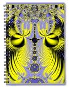 Birds Of Paradise Fractal 160 Spiral Notebook