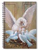 Birds Of Toledo Street Art Spiral Notebook