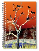 Birds On Tree Spiral Notebook
