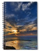 Birdy Bird At Hilton Beach Spiral Notebook