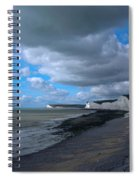 Birling Gap Beach Spiral Notebook