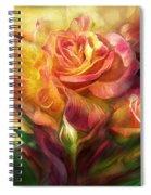 Birth Of A Rose - Sq Spiral Notebook