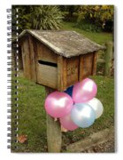 Birthday Balloons Spiral Notebook