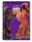 Birthday Cake Spiral Notebook