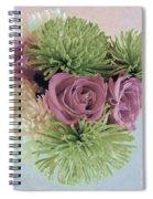 Birthday Flowers Three Spiral Notebook