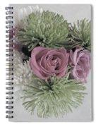 Birthday Flowers Two Spiral Notebook
